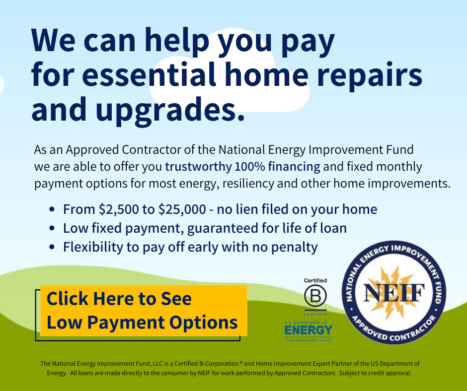 V2.0 - Click here - essential home repairs and upgrades.